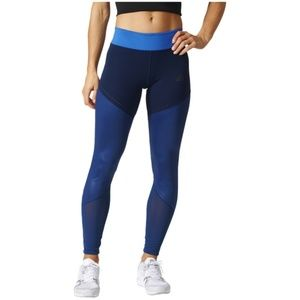 Adidas climate mesh workout tights